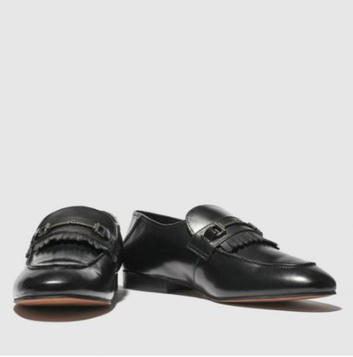 H By Hudson Black Chichester Shoes