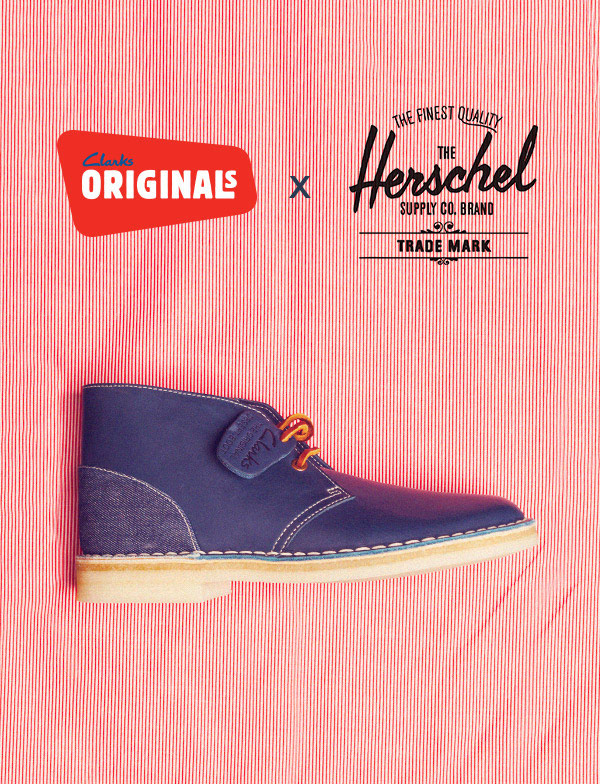 Clarks original x Herschel Supply Co
