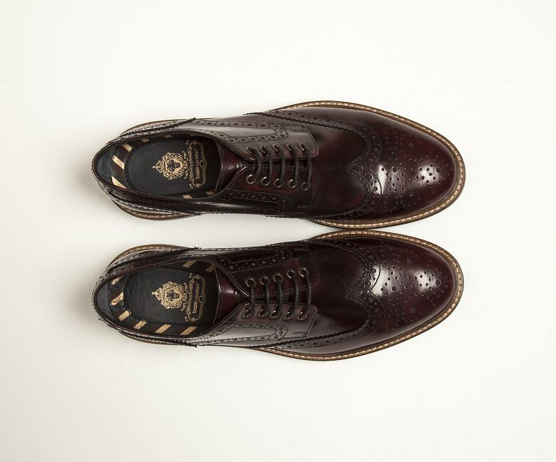 Base Manor Brogue
