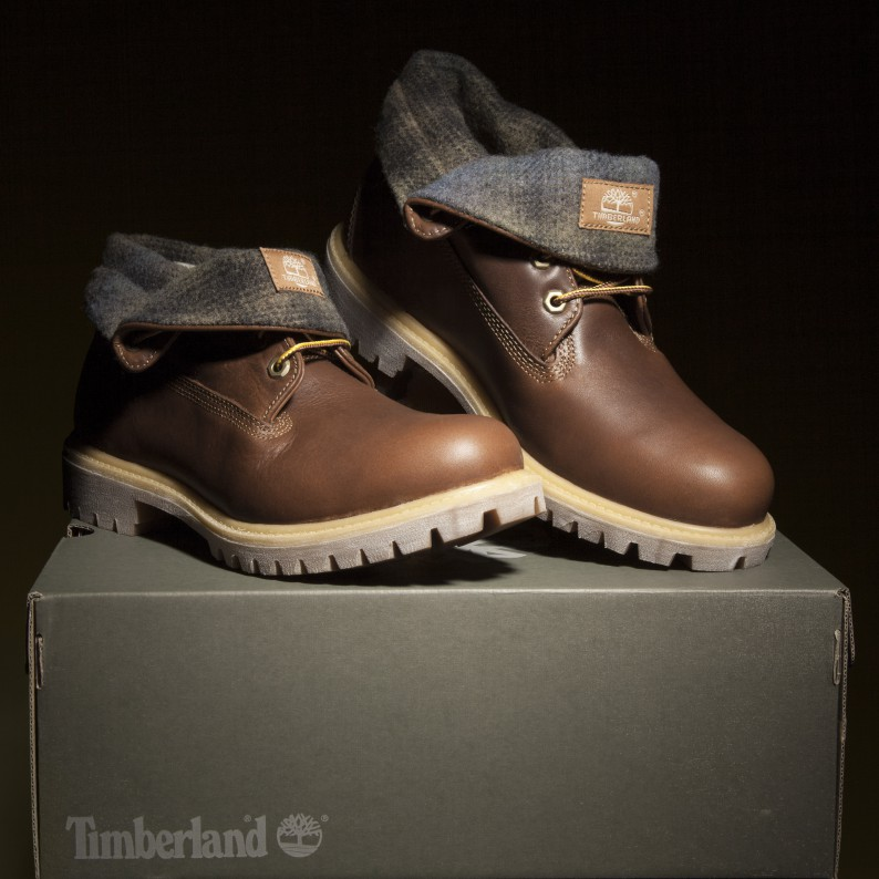 Men's Timberland Roll Top Woolrich Boots