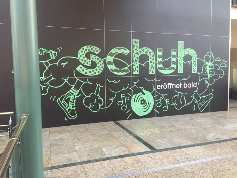 schuh comes to Germany