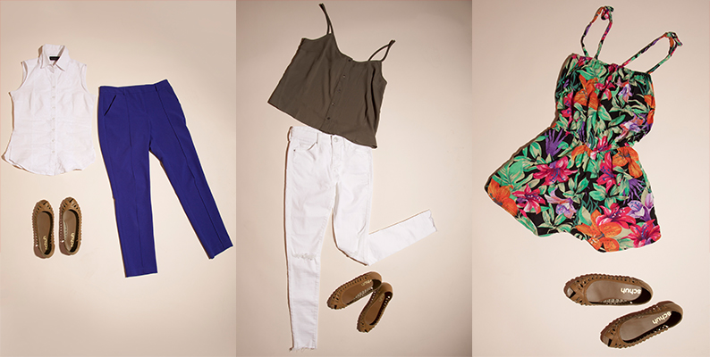 how to style the schuh sahara 3 ways; for work, with skinny jeans and with a dress or playsuit