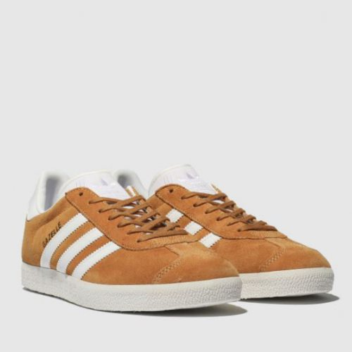 Adidas Gazelle Orange Trainers