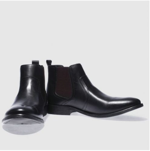 Base London Engine Chelsea Boots